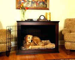pet crate furniture. Dog Cage End Table Wooden Crate Furniture Crates Pet T