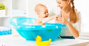 baby bath tub reviews blue by mom innovations potty