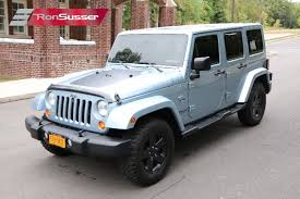 2012 jeep wrangler unlimited 4 door arctic edition 1 of 1113 produced orig owner loaded