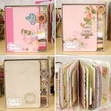 Us 21 59 10 Off Eno Greeting Retro Complete Scrapbook Kit Gift Set Creative Scrapbooking Diy Photo Album With Vintage Page Kits In Photo Albums From