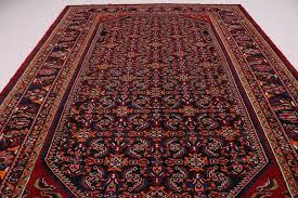 fine all over design bright color lilian hamedan persian oriental area rug 9x13 2 2 of 12