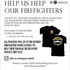JoinLAFD - #Repost @station9_ ・・・ UPDATE: shirt orders have no ...