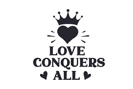 These files never expire and will always be available. Love Conquers All Svg Cut File By Creative Fabrica Crafts Creative Fabrica