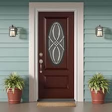 choose your door material fiberglass