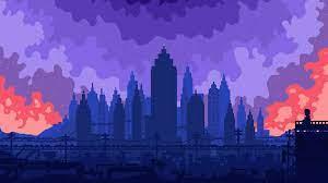 Desktop wallpaper high skies, buildings ...