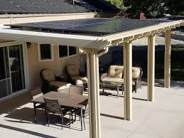 if you re considering making the upgrade to build some sort of solar lounge you may want to look into a solar patio cover or gazebo