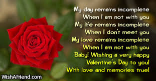 valentine s day messages for friend