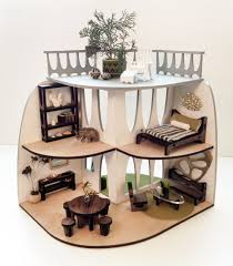 dollhouse furniture modern. Sustainable Mid-Century Modern Dollhouse And Matching Furniture