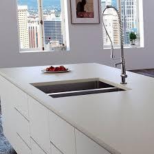 quartz composite countertop kitchen gray zement
