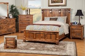 rustic wood bedroom sets. Delighful Wood Solid Wood Sahuaro Reclaimed Set For Rustic Bedroom Sets D