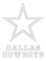 Small Picture A star Dallas Cowboys logo american football team in the NFC