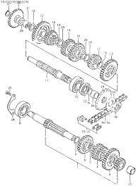 Suzuki ts125ert 1980 10 transmission date 01 08 2013
