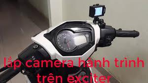 Lắp Camera Hành Trình Cho Xe Exciter 150 - YouTube