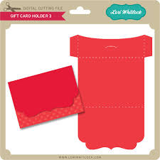 Gift Card Holder 3 Envelope