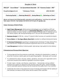 Six Sigma Resume Windenergyinvesting Com
