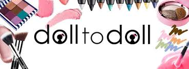 business cards the name doll to doll really means having one doll me sharing her makeup