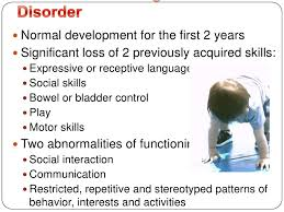 What is Childhood Disintegrative Disorder  Symptoms  Treatment   More