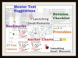 Writer S Workshop Anchor Charts Launching Writing Workshop 25 Free Ccss Lessons With