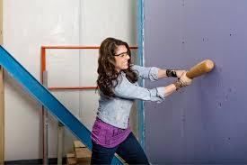 purple drywall