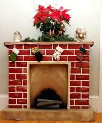 fake fireplaces for decoration fake cardboard fireplace mantel