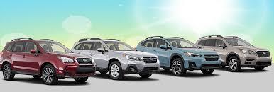2019 Subaru Suv Lineup 2019 Subaru Models Near Lincoln Ne
