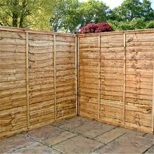 to enlarge close lap panel overlap fencing
