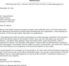 Cover Letter Anthropologie Resume Sample Retail Sales Associate