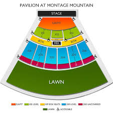 The Pavilion At Montage Mountain 2019 Seating Chart