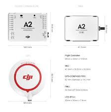 dji a2 flight controller gps compass peripheral