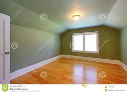 Low Ceiling Attic Bedroom Unfurnished Attic Room With View Stock Photography Image 15773342
