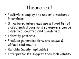 advantages of structured interviews l6 interviews