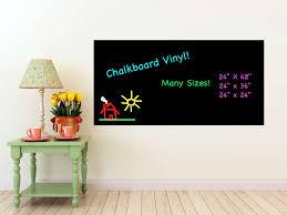 chalk board wall stickers   chalkboard wall decal