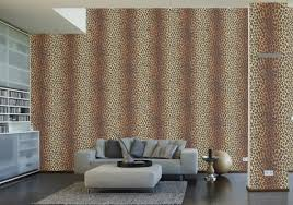 Leopard Print Bedroom Wallpaper Animal Skins