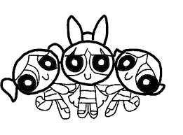 Small Picture Powerpuff Girls Coloring Pages Bebo Pandco