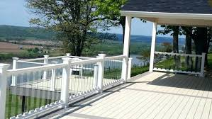railings that wont block your view clear deck railing glass systems mountain comparing cable