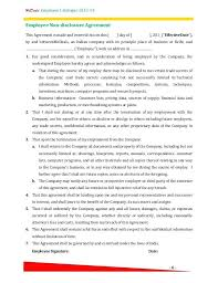 Hr Contract Template Sample Employment Contract Template Hr Policy ...