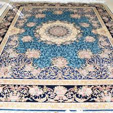 mingxin 8x10 feet persian rug exquisite double knots handknotted silk carpet for home area carpet silk rug turkish rug persian rug with