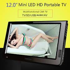 tv 12 inch. leadstar hd portable tv 12 inch digital and analog led televisions support tf card usb audio car television dvb t t2 ac3-in from consumer tv 2