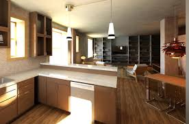 ... Awesome Efficiency Apartment Design Interior : Awesome Efficiency  Apartment Design Interior With Open Kitchen Living Room ...