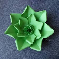 Flower Paper Craft Large Flower Petals Anyone Can Craft