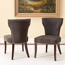 fabric dining chairs with nailheads. upholstered dining chairs with nail heads | inexpensive fabric nailheads n