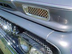 heater unit pinstripe 1960 1966 chevy c10 truck project 63 chevy c10 metal mesh accents