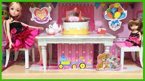 Đồ chơi trẻ em Búp bê Lelia và em gái tổ chức sinh nhật-Lelia party với  bánh kem (Chim Xinh) - YouTube