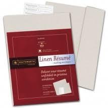 Linen Resume 9 X 12 Envelopes