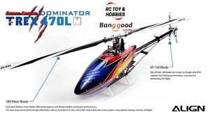 Rc Helicopter Size Chart Align T Rex 470lm 470l Dominator Rc Helicopter Rh47e01xt Super Combo