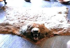 brown bear skin rug faux fur bear skin rug assessment elderly ideas for inside animal rugs brown bear skin rug