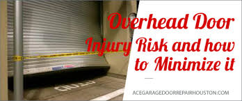 overhead door injury what you should know ace garage door repair houston