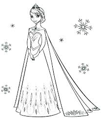 disney frozen printable coloring pages color life book