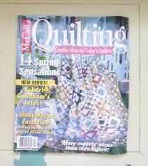 Quilting Today Magazine | Blogandmore & Creative Quilting Today Magazine And Modern Ideas Of McCalls Quilting April  2001 Edition Quilting Magazine Quilt Adamdwight.com