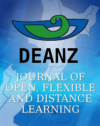 journal of open flexible and distance learning learning journal of open flexible and distance learning